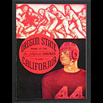 1938 Cal vs Oregon State College Football Program