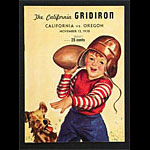 1938 Cal vs Oregon College Football Program