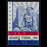 1941 Pittsburgh vs Nebraska College Football Program