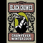 Alan Forbes The Black Crowes Poster