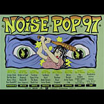 Alan Forbes Noise Pop 1997 Poster