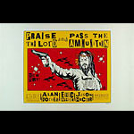Alan Forbes Praise The Lord and Pass the Ammunition Poster