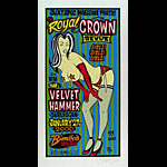 Alan Forbes The Royal Crown Revue Poster
