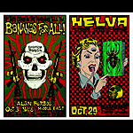 Alan Forbes Bananas For All - Helva Uncut Proof Sheet Poster