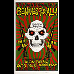 Alan Forbes Bananas For All Exhibition Poster Poster