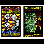 Alan Forbes Coal Chamber - Fleshtones Uncut Proof Sheet Poster