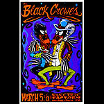 Alan Forbes Black Crowes Poster