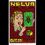 Alan Forbes Helva Poster