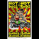 Alan Forbes Hot Dogs & Hot Rods Poster Poster