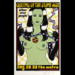 Alan Forbes Queens of the Stone Age Poster Poster
