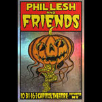 Alan Forbes Phil Lesh and Friends Autographed Poster