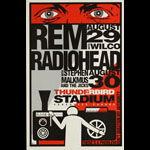 Robe R.E.M. (REM) and Radiohead Poster