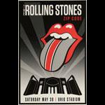 The Rolling Stones Zip Code Tour Poster