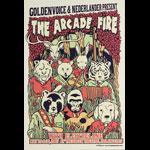 Ivan Minsloff Arcade Fire Poster