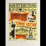 Carlos Hernandez Robert Cray Band Poster