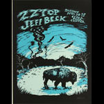 Billy Perkins ZZ Top and Jeff Beck Poster