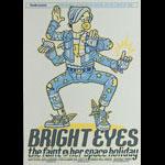 Guy Burwell Thrasher Presents Bright Eyes  Poster
