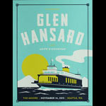 Matt Harvey STG Presents Glen Hansard Poster