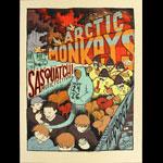 Jay Ryan Arctic Monkeys at Sasquatch Music Festival Poster