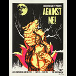 Xray Goldenvoice and FYF Present Against Me! Poster
