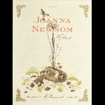 Frida Clements STG Presents Joanna Newsom Poster