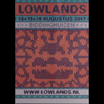 Lowlands Festival 2017 Poster