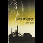 Hatch Show Print Alice In Chains Poster