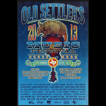 Outhouse Designs 26th Annual Old Settlers Music Festival 2013 - Michel Franti Poster