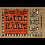 Grego Battle of the Harps - Kim Wilson Rod Piazza and James Harman Poster