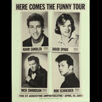 Swing From The Rafters Adam Sandler David Spade Here Comes The Funny Tour Poster