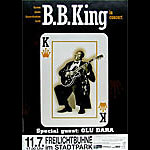 B.B. King German Concert Poster