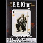 B.B. King German Concert Poster