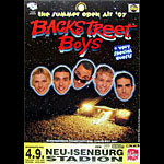 Backstreet Boys German Concert Poster