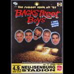 Backstreet Boys German Concert Poster