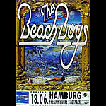 Beach Boys German Concert Poster