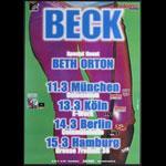 Beck German Concert Poster