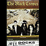 Black Crowes German Concert Poster