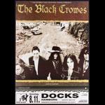 Black Crowes German Concert Poster