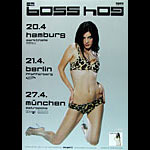 Boss Hog German Concert Poster