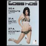 Boss Hog Whiteout Album Release German Concert Poster