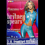 Britney Spears German Concert Poster