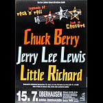 Chuck Berry German Concert Poster