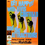 Elvis Costello and the Attractions German Concert Poster