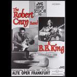 Robert Cray Band German Concert Poster