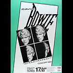 David Bowie German Concert Poster