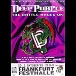 Deep Purple German Concert Poster