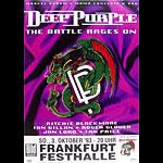 Deep Purple The Battle Rages On Album Release German Concert Poster