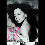 Diana Ross German Concert Poster
