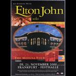 Elton John German Concert Poster