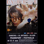 David Bowie Reality Tour German Poster